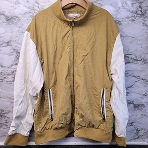 Marc Ecko Cut & Sew Jackeg Khaki Lined Mens 2XL